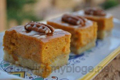 Пирог из тыквы с апельсинами