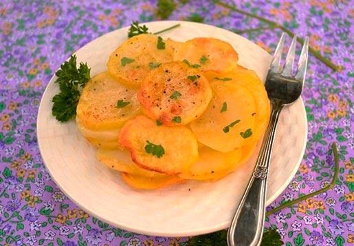 Картофель запеченный по-французски