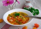 Овощной суп на курином бульоне Суккоташ