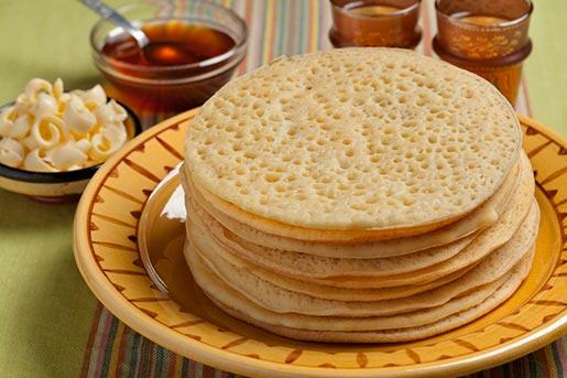 Багрир – марокканские блины из манной муки