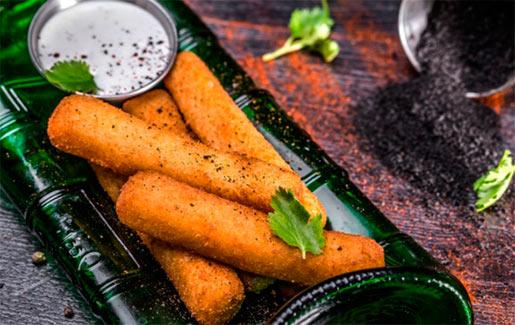 Хрустящие палочки – вкусное блюдо из пшена