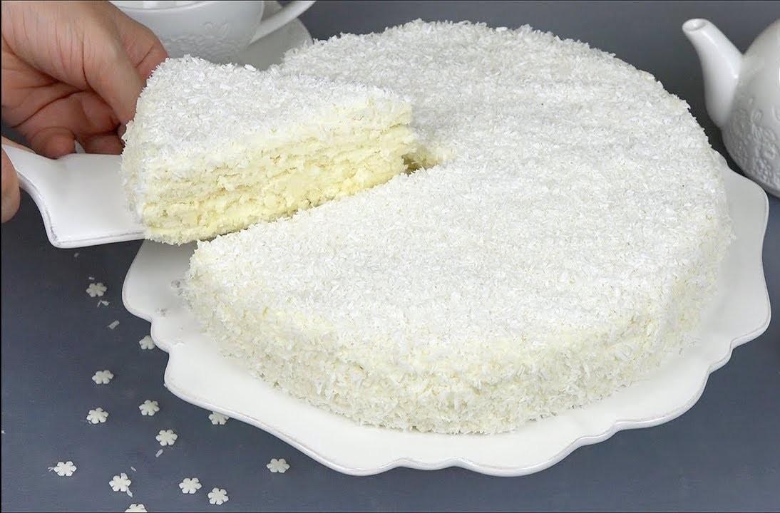 """Зимний торт """"Снежинка"""""""