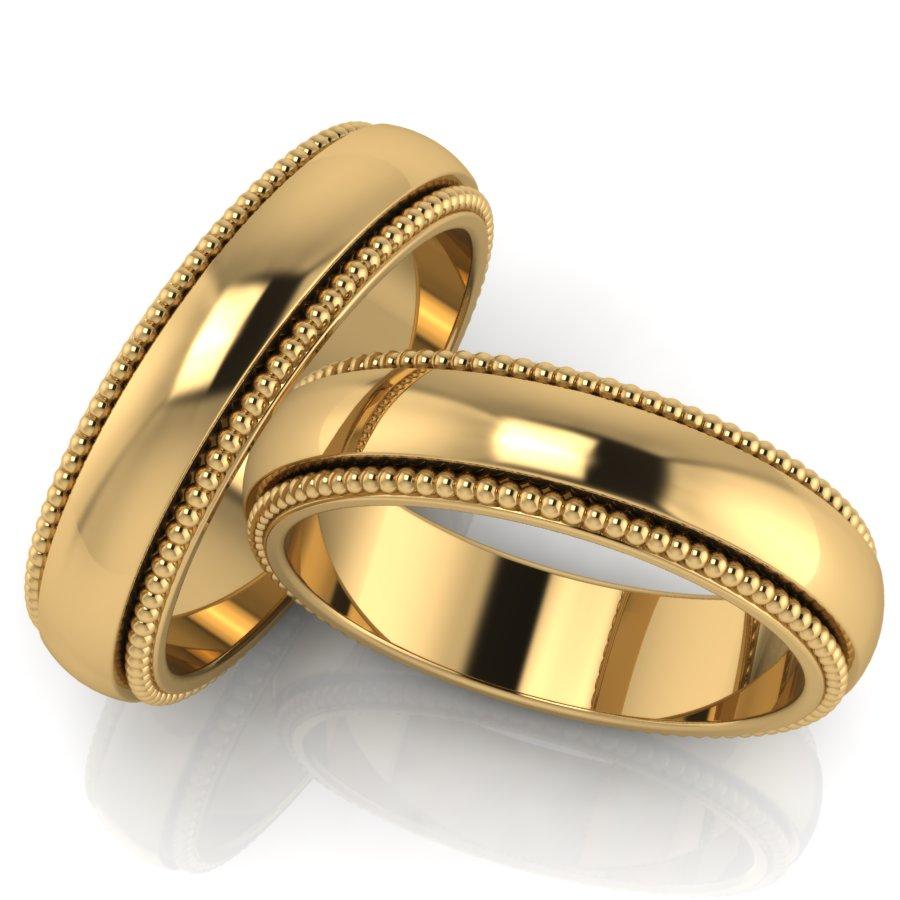 Обручальные кольца – золото в топе продаж