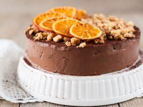Апельсиновый пирог со сливками