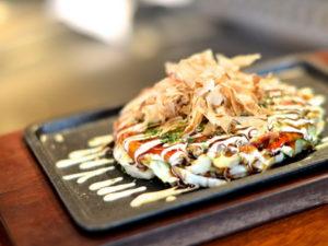 японская пицца окономияки
