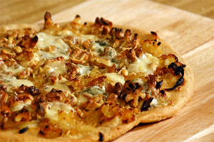 Две необычных вегетарианских пиццы
