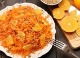 салат из моркови с апельсином