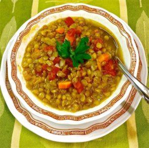 Суп из чечевицы рецепт в микроволновке