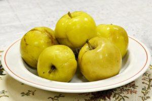 моченые яблоки рецепт в домашних условиях