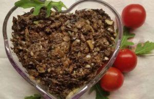 икра из сушеных грибов рецепты приготовления с фото