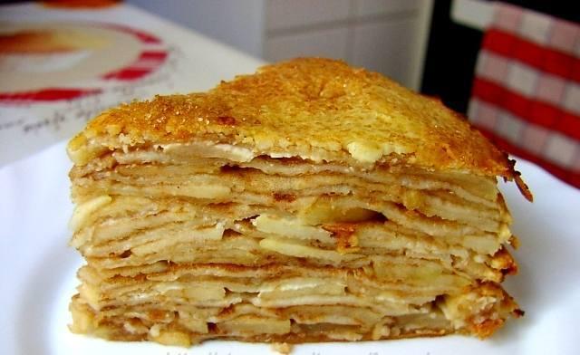 Блинчатый пирог рецепт