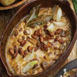 лисички в сметане рецепт
