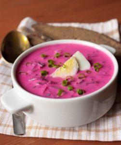 холодный борщ рецепт классический с фото пошагово