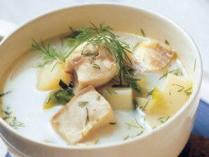 рыбный суп с молоком рецепт с фото пошагово