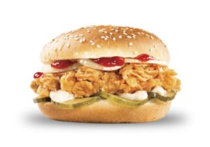 Бургер Сандерс KFC приготовить дома