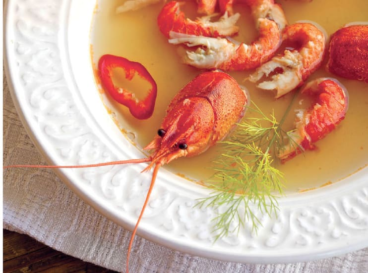 Московский раковый суп рецепт