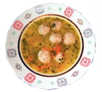 Суп потемкинский с кнелями рецепт
