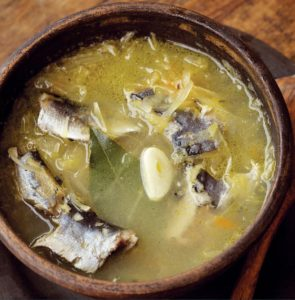 рыбные щи из капусты рецепт