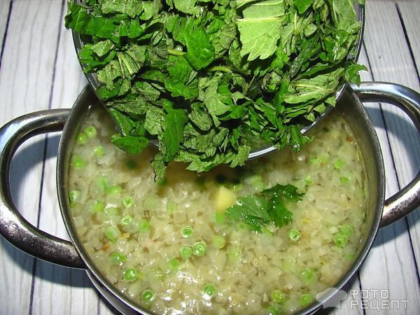Суп из крапивы рецепт