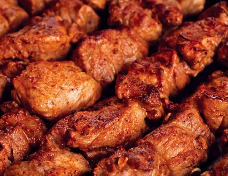 Шашлык из свиной шеи рецепт