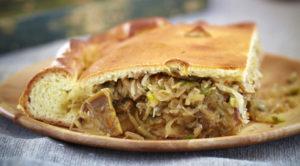 рецепт постного пирога с капустой быстро и вкусно в духовке