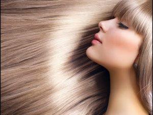 красивые волосы блондинка