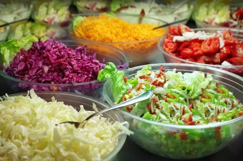 12 рецептов овощных салатов