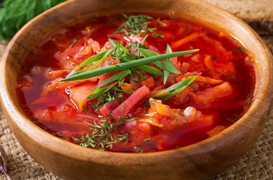 Борщ овощной без мяса рецепт