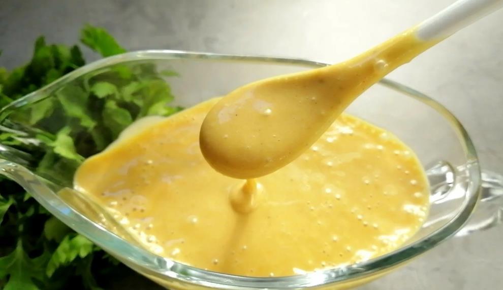 Соус к салатам горчичный