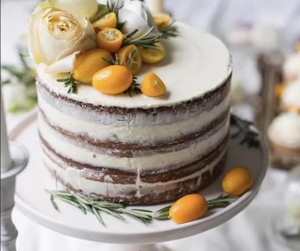 Торт с разными коржами