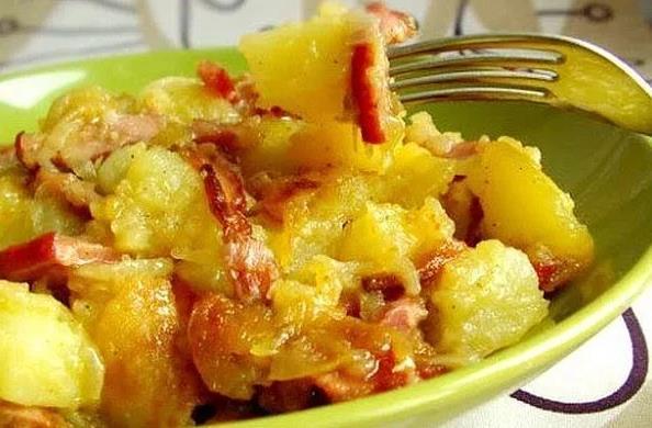 Картофель по-крестьянски рецепт