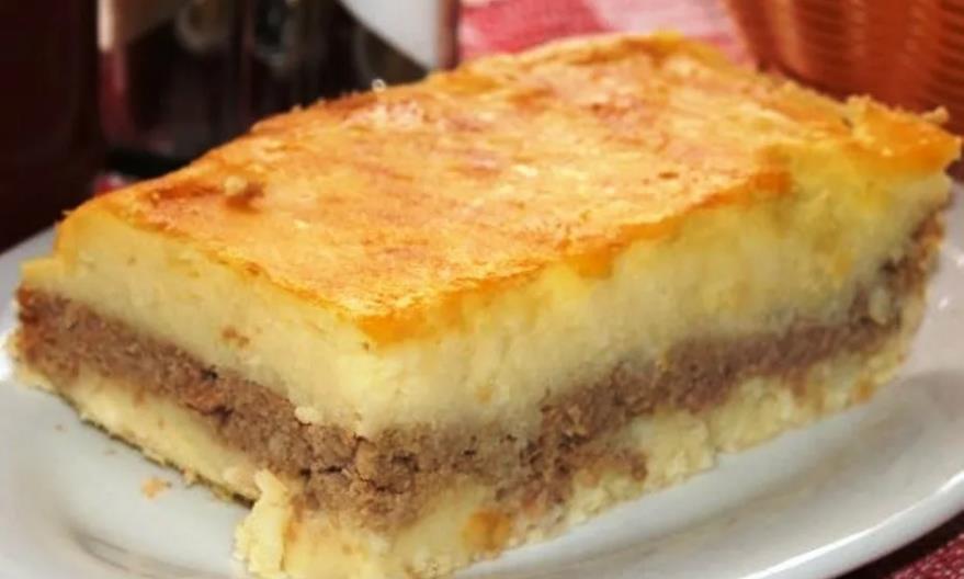 Картофельная запеканка с фаршем в духовке классический рецепт