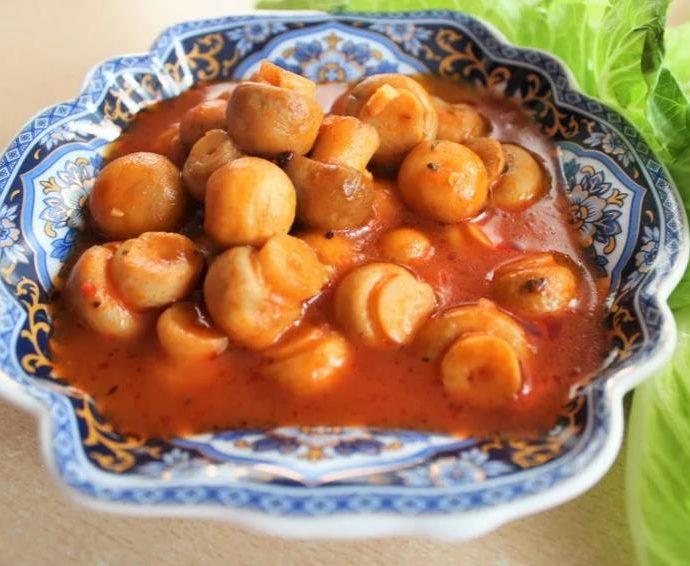 Грибы по-гречески рецепт