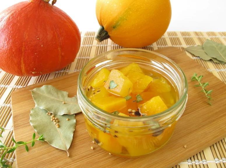 Закуска из тыквы с чесноком на зиму рецепты
