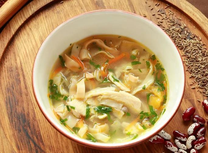Азербайджанский свадебный суп
