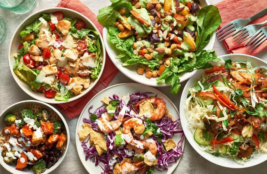 3 рецепта простых салатов на скорую руку