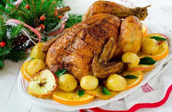 Фаршированный цыпленок в духовке рецепт