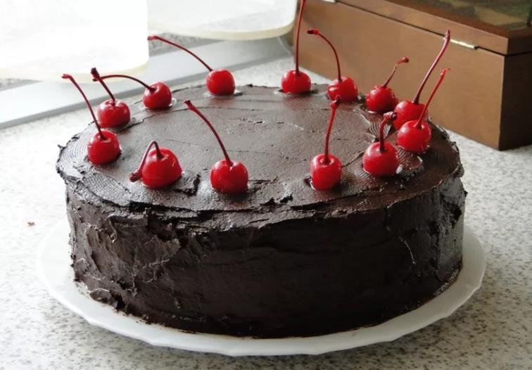 Вишня в шоколаде торт