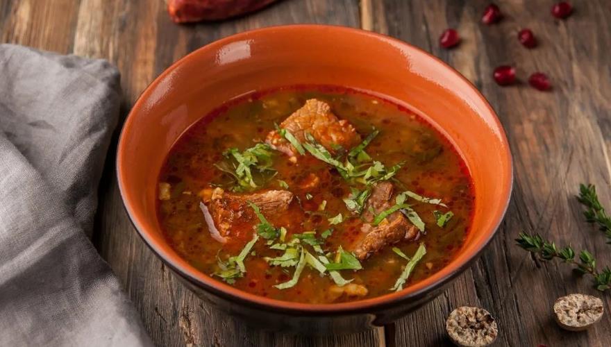 Рецепт супа харчо из говядины