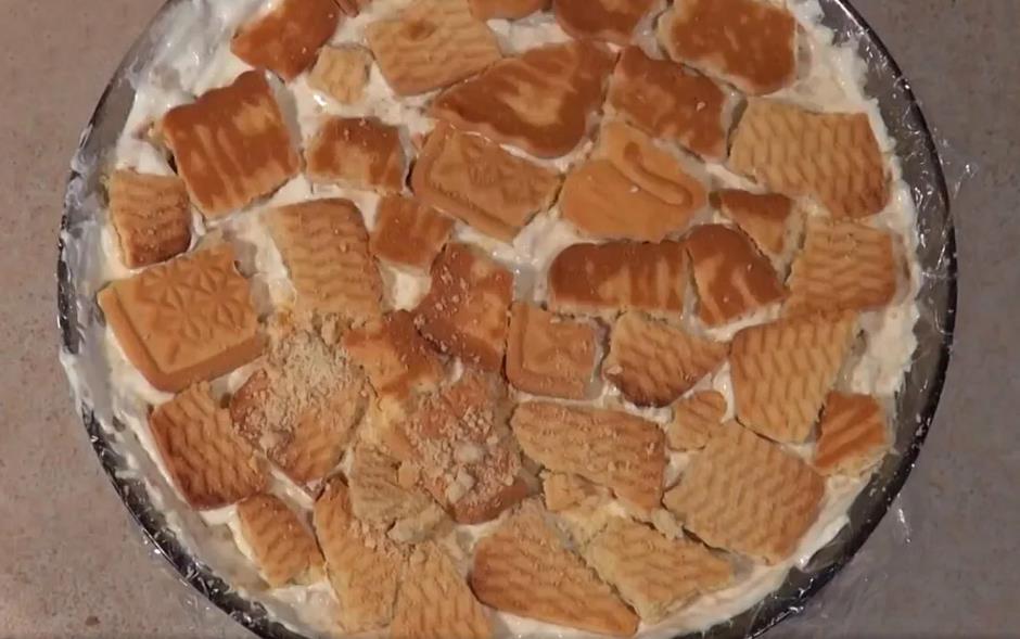 Рецепт торта из печенья без выпечки