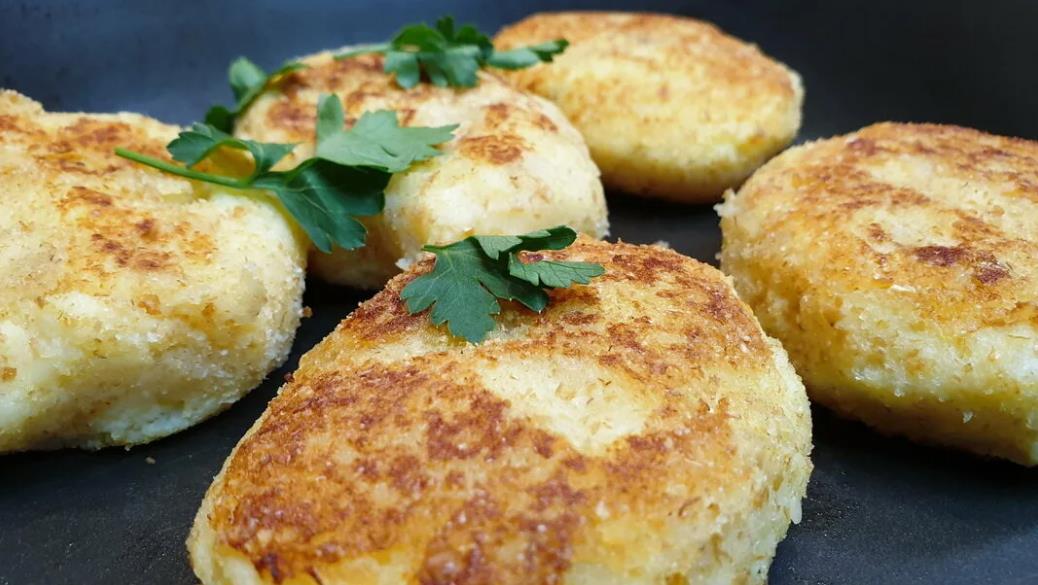 Котлеты из картофеля с репой