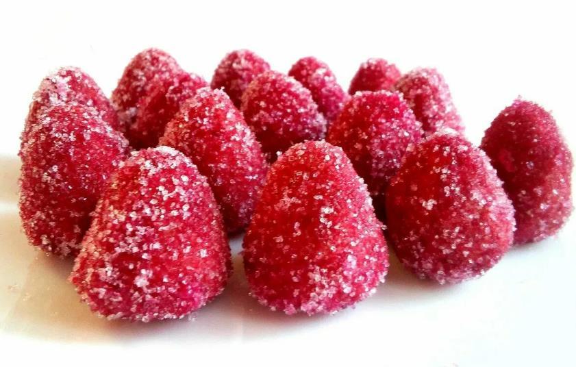 Песочное печенье ягодки