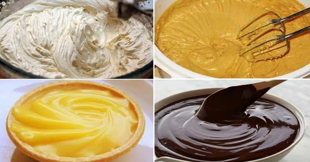 Кремы для тортов и кексов