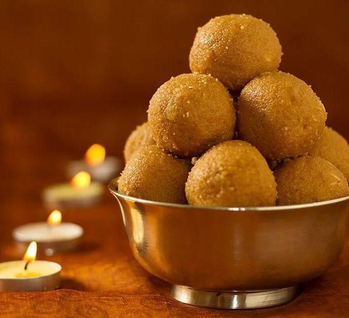 Ладу – десерт индийской кухни