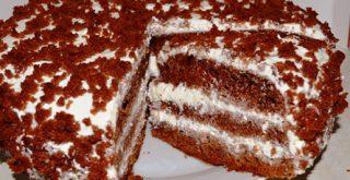 Торт Черный принц на кефире