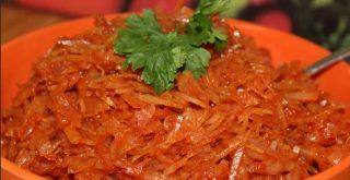 тушеная капуста с томатной пастой рецепт приготовления