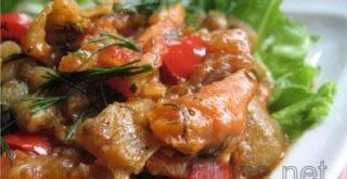 Рагу кабачковое с баклажанами и цветной капустой
