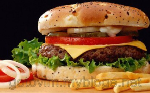 Гамбургер из Макдональдса