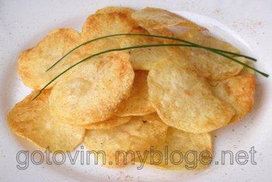 Домашние чипсы с паприкой