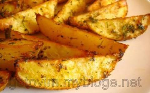 Картофель по-деревенски аля Макдональдс